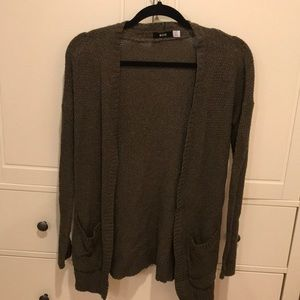 Urban Outfitters Olive Cardigan